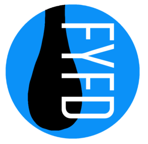 fluid dynamics logo. fyfd is my fluid dynamics outreach website. dedicated to sharing the awesomeness that with world\u2014whether or not you care for logo